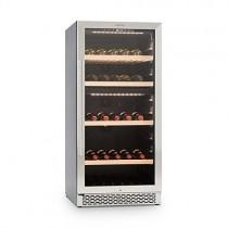 Klarstein Botella 120D • Nevera para vinos o Bebidas • Vinoteca • 261 litros • 111 Botellas