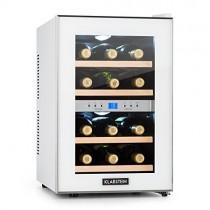 Klarstein Reserva • Nevera de vinos • Refrigerador bebidas • 34 L • 12 Botellas