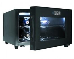 Lacor Black Line 69187 – Armario refrigerador, 8 botellas, 50 W, 23 litros
